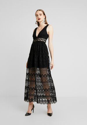 ELINA MAXI DRESS - Iltapuku - black