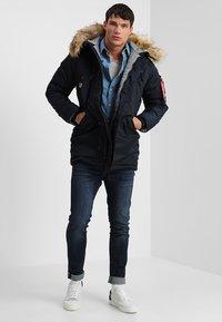 Alpha Industries - AIRBORNE - Winter coat - rep blue - 1