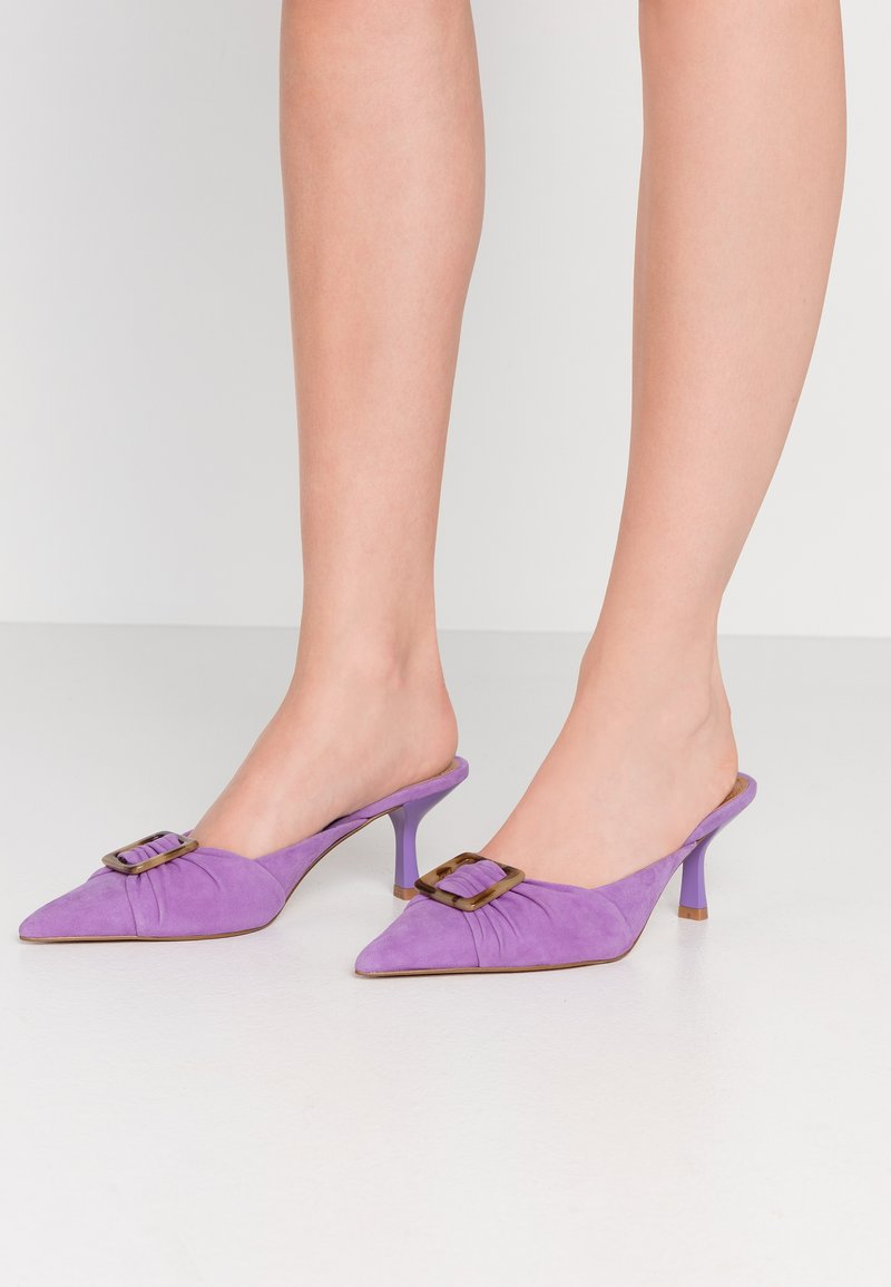 Who What Wear - ANALISE - Mules à talons - fairy wren
