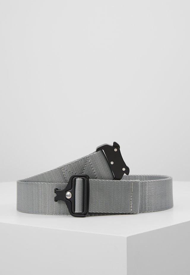 WING BUCKLE BELT - Pásek - grey