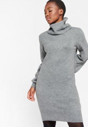 Jumper dress - grey mid mel