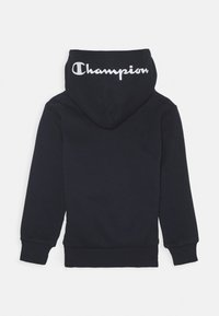 Champion - LEGACY AMERICAN CLASSICS HOODED HALF ZIP - Bluza z kapturem - navy - 1