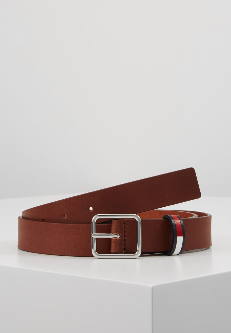 Tommy Jeans - FLAG INLAY - Belte - brown