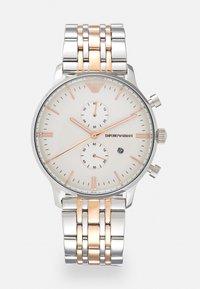 Emporio Armani - Chronograph watch - silver/gold - 0