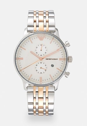 Chronograph watch - silver/gold