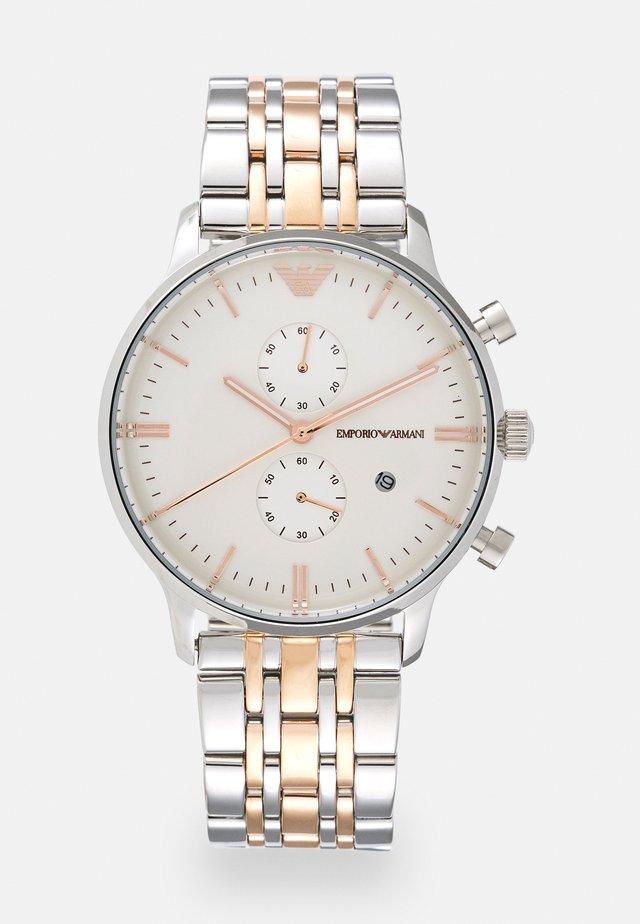 Cronografo - silver/gold