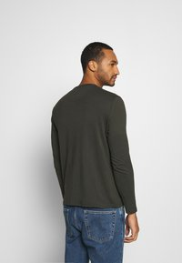 Burton Menswear London - LONG SLEEVE CREW 2 PACK  - Maglietta a manica lunga - charcoal - 2