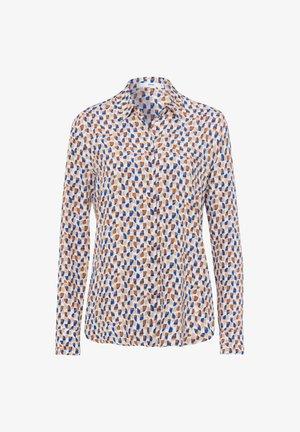 VICTORIA - Button-down blouse - blue