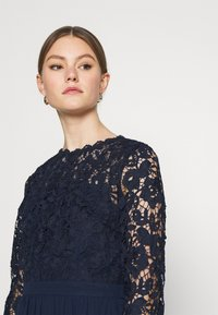 Chi Chi London - LYANA DRESS - Cocktail dress / Party dress - navy - 3