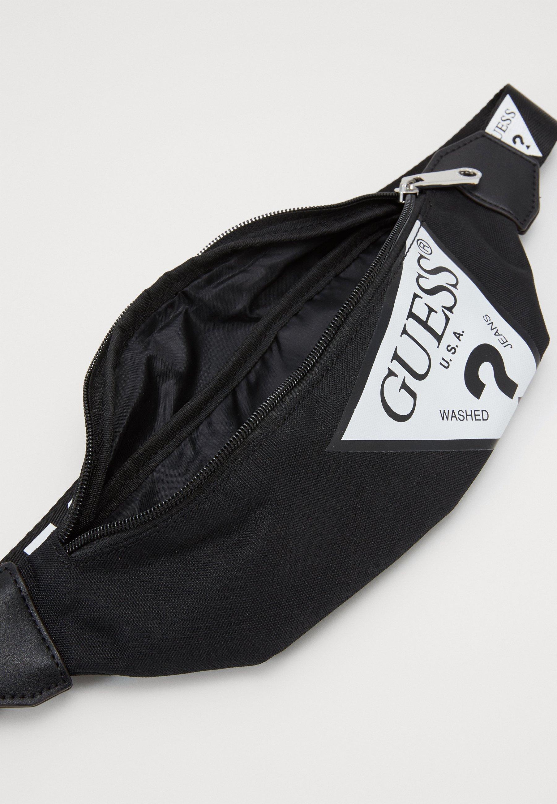 Guess DEVIN BUM BAG - Rumpetaske - black/svart oC0u2KpP6b9UAlR