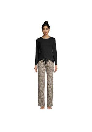 SET - Pyjama set - alabaster leopard print