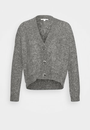 DOMANI - Strickjacke - easy grey