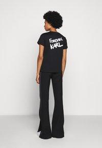 KARL LAGERFELD - FOREVER - T-Shirt print - black - 2