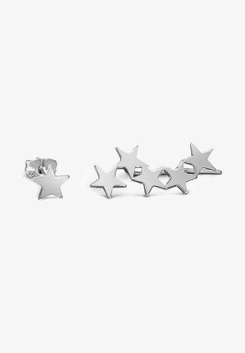 STAR & STUD - Pendientes - silver