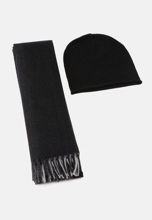 SET - Scarf - grey/black