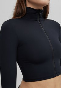 Bershka - MIT REISSVERSCHLUSS  - Training jacket - black - 3