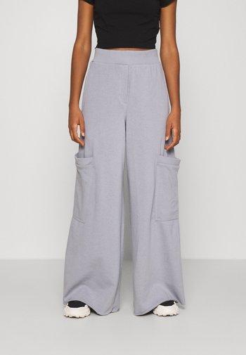 ALICE - Pantalon de survêtement - steel grey solid