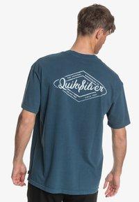 Quiksilver - HARMONY HALL  - T-shirt print - majolica blue - 2