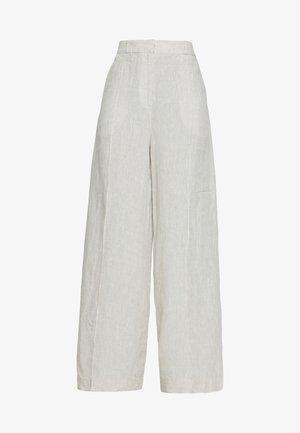 PANTS - Pantalones - white coffee
