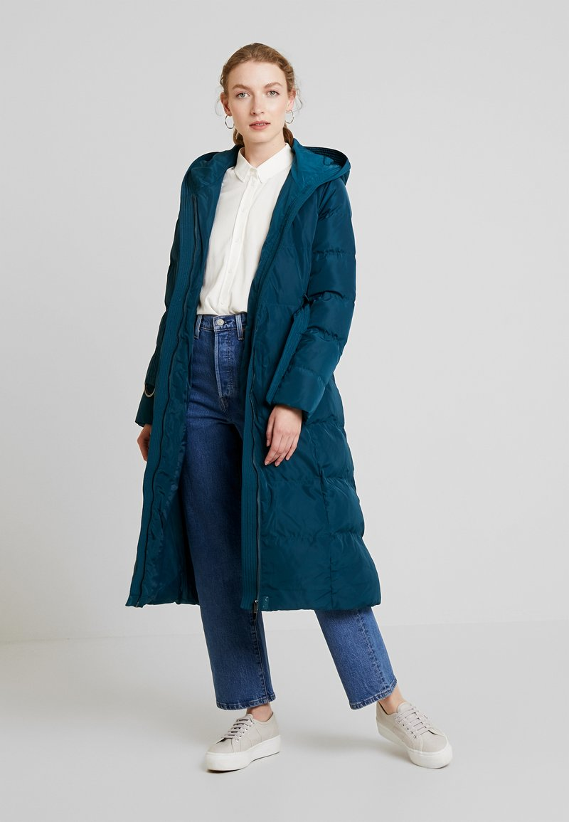 Anna Field - Trench - teal