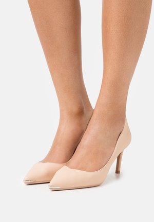KINSLY - Classic heels - nude pink