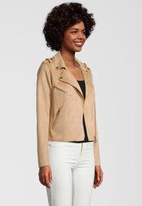 Rino&Pelle - Faux leather jacket - tan - 2