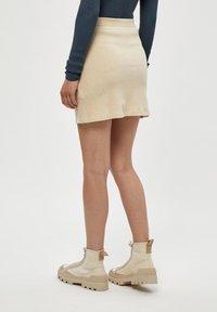 Desires - BRITT  - Mini skirt - oyster gray - 2