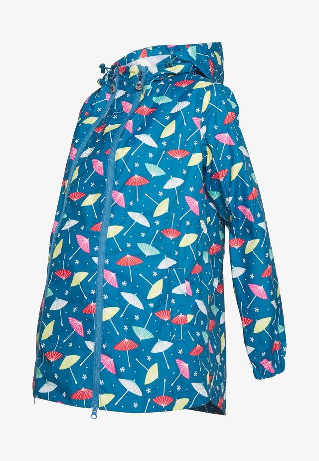 APRIL SHOWERS RAIN - Waterproof jacket - blue