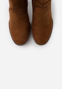 Anna Field - High heeled boots - cognac - 5