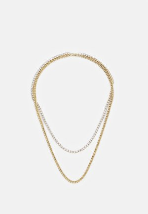 DOUBLE LAYER NECKLACE - Halskette - gold-coloured