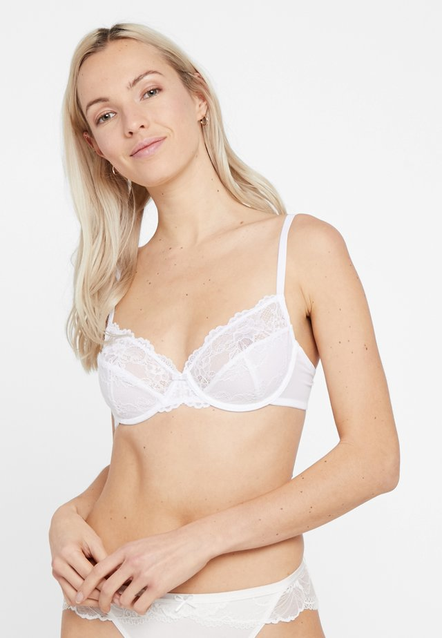 TEMPTING - Underwired bra - white
