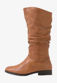 Pier One Wide Fit - Boots - cognac - 1