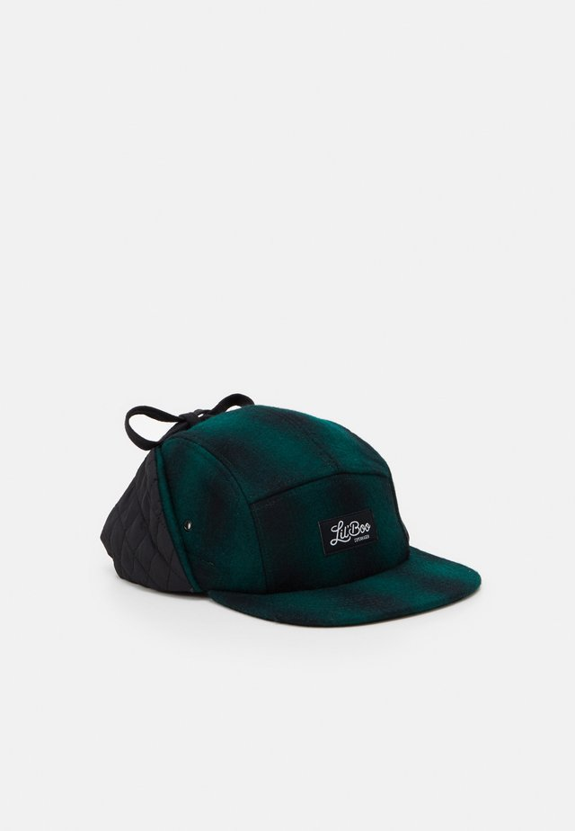 BLOCK PANEL EARS - Cap - green/black