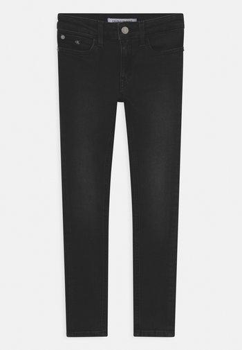 SUPER SKINNY  - Jeans Skinny Fit - essential ebony black