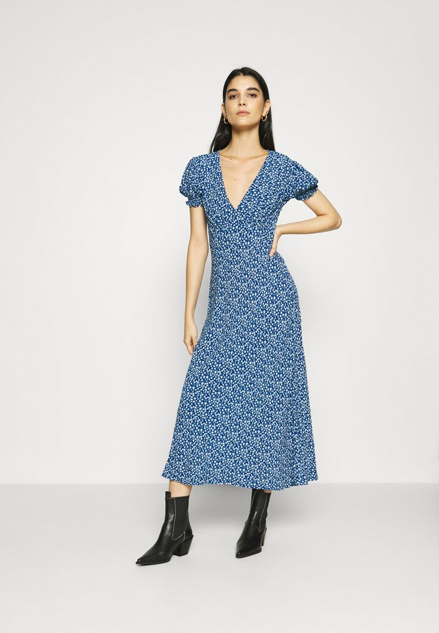 POET DRESS - Kjole - blue