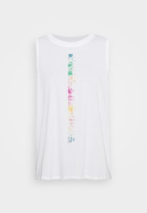PRIDE FASHION GRAPHIC TANK - Camiseta de deporte - white