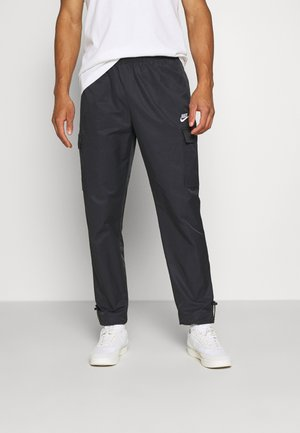 Tracksuit bottoms - black/white