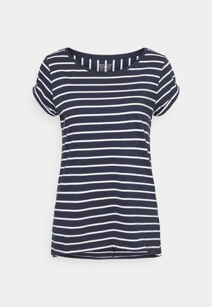 TEE - T-shirt con stampa - navy