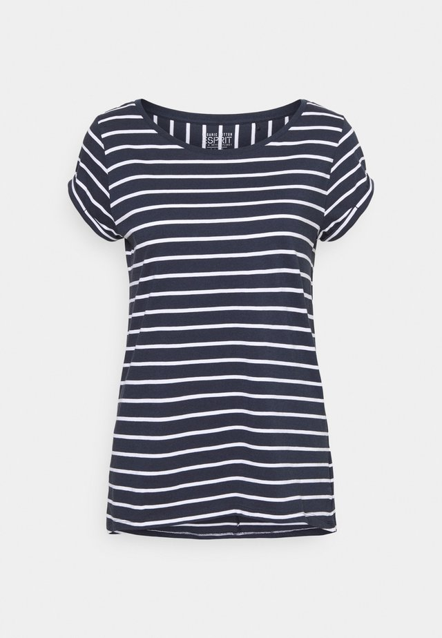 TEE - Camiseta estampada - navy