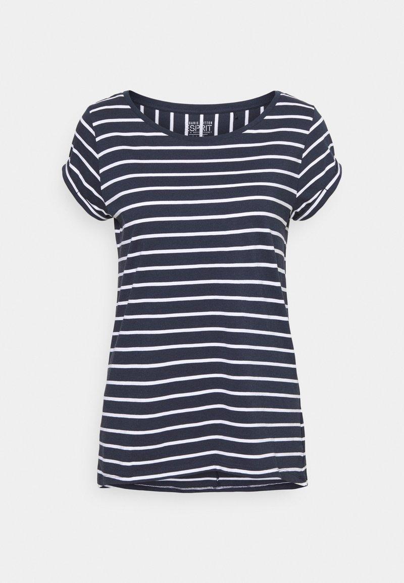 Esprit - TEE - Print T-shirt - navy