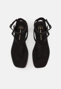 MIREIA PLAYÀ - VEGAN JULIETA - T-bar sandals - black - 5