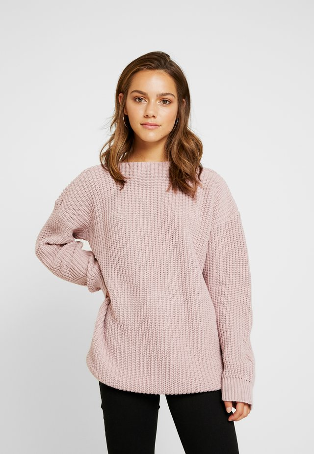 Maglione - dusky pink