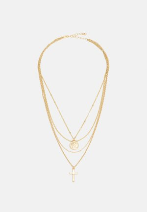 BELLI COMBI NECKLACE - Smykke - gold-coloured