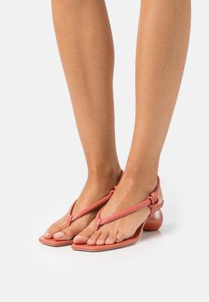 AVIVA SLING BACK - T-bar sandals - jasper