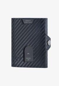 VON HEESEN - WHIZZ MIT CRYPTALLOY - Wallet - carbon-schwarz - 0