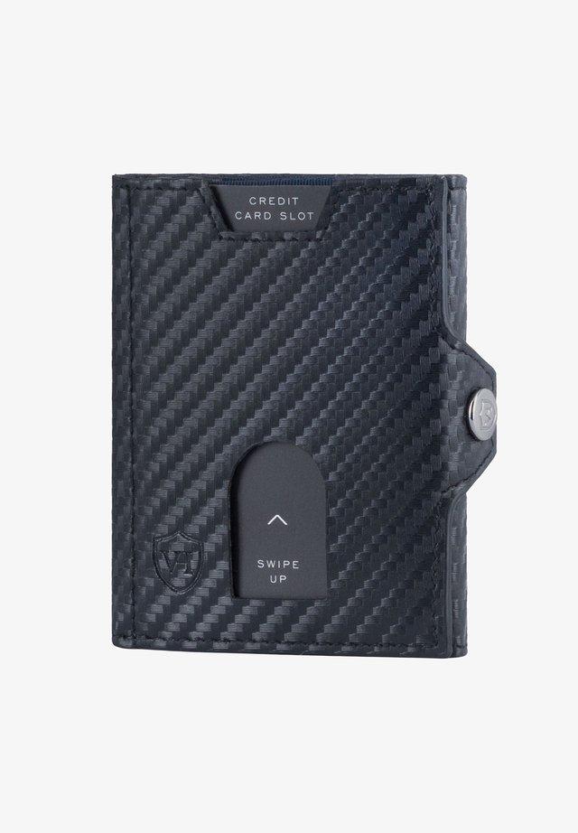 WHIZZ MIT CRYPTALLOY - Wallet - carbon-schwarz