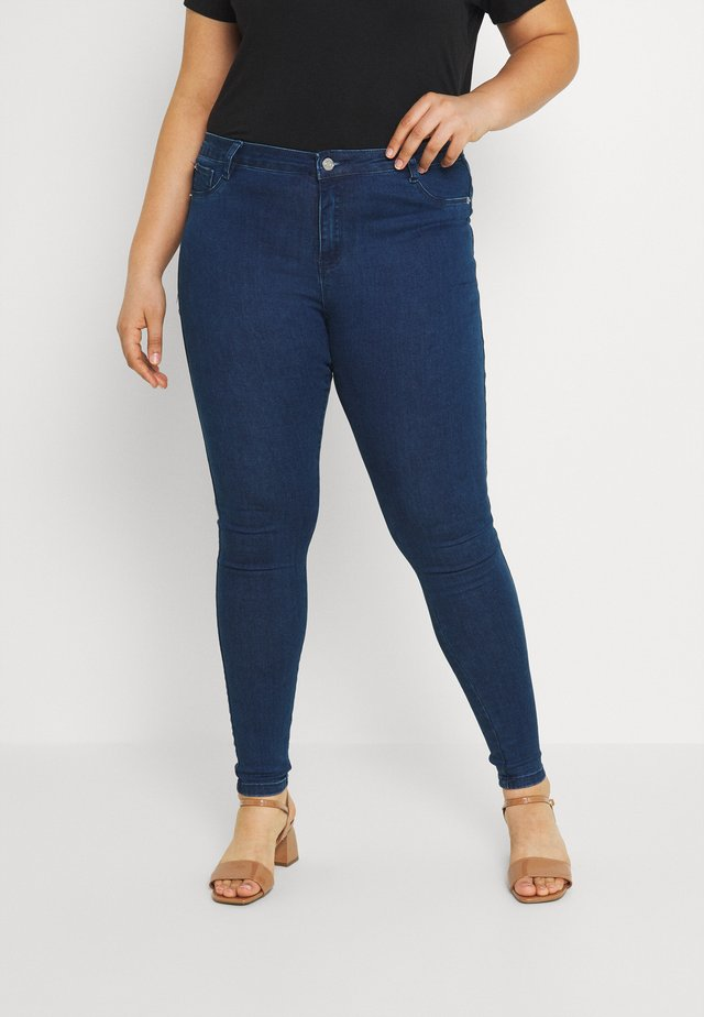 ANARCHY MID RISE - Jeans Skinny - blue