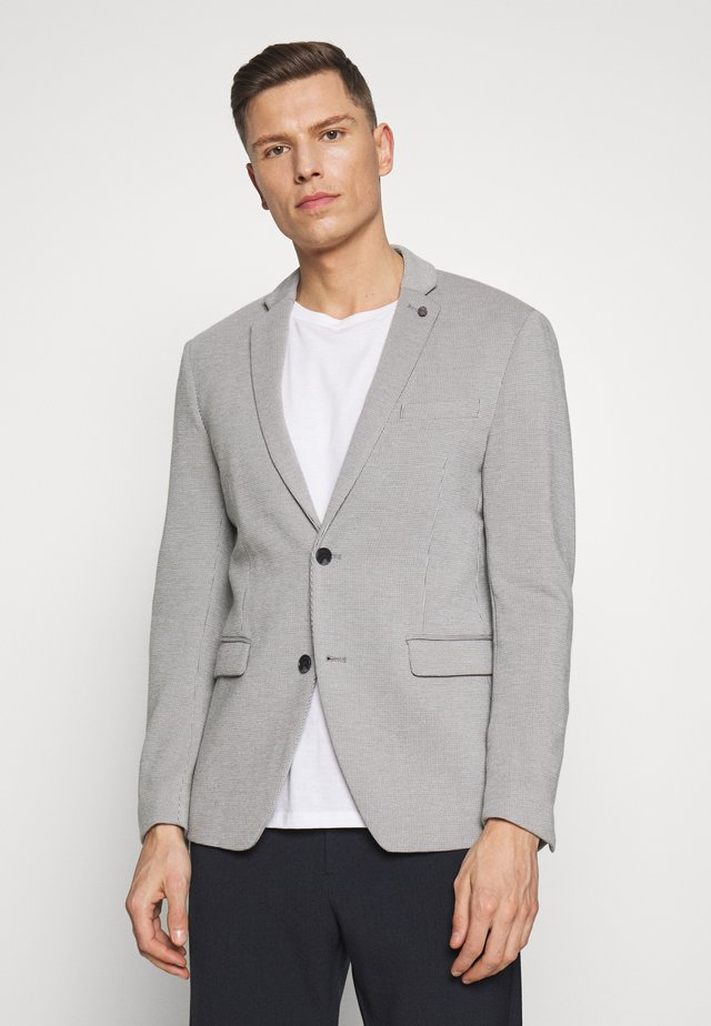 SOFT TONE - Blazer - light grey