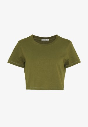 THE ONE BABY TEE - Triko s potiskem - winter moss