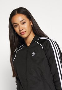 adidas Originals - TRACKTOP - Veste de survêtement - black/white - 4